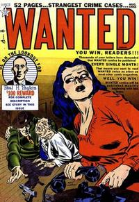 Cover Thumbnail for Wanted Comics (Orbit-Wanted, 1947 series) #28