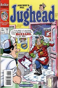 Cover Thumbnail for Archie's Pal Jughead Comics (Archie, 1993 series) #156