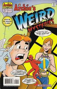 Cover Thumbnail for Archie's Weird Mysteries (Archie, 2000 series) #9