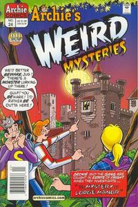 Cover for Archie's Weird Mysteries (Archie, 2000 series) #24 [Direct]