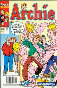 Cover for Archie (Archie, 1959 series) #483