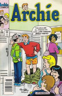 Cover Thumbnail for Archie (Archie, 1959 series) #506
