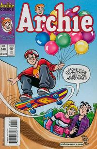 Cover Thumbnail for Archie (Archie, 1959 series) #548