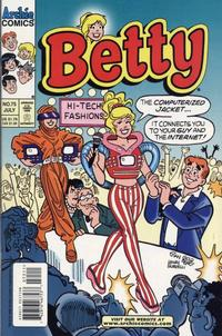 Cover Thumbnail for Betty (Archie, 1992 series) #75