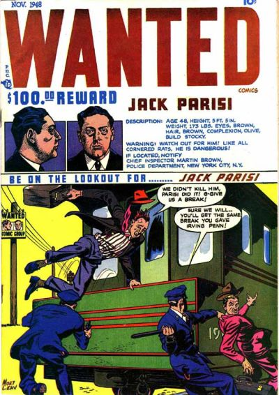 Cover for Wanted Comics (Orbit-Wanted, 1947 series) #16