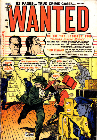 Cover for Wanted Comics (Orbit-Wanted, 1947 series) #38