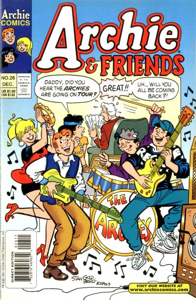 Cover for Archie & Friends (Archie, 1992 series) #26