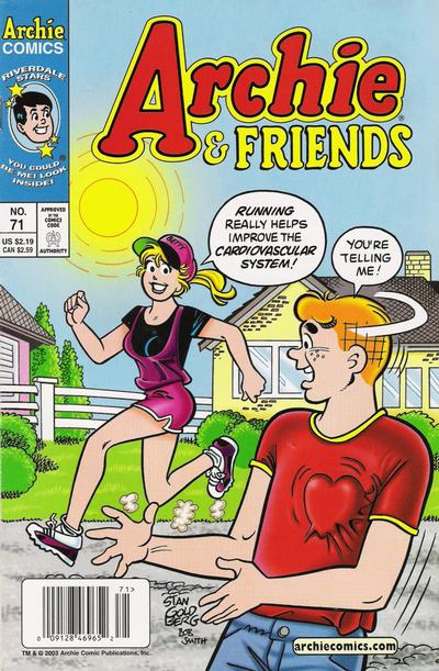 Cover for Archie & Friends (Archie, 1992 series) #71