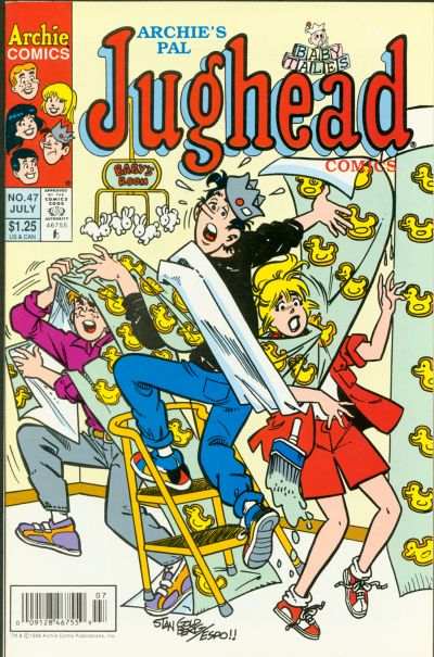 Cover for Archie's Pal Jughead Comics (Archie, 1993 series) #47