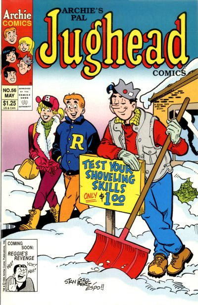 Cover for Archie's Pal Jughead Comics (Archie, 1993 series) #56