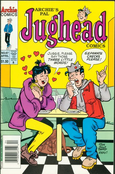Cover for Archie's Pal Jughead Comics (Archie, 1993 series) #67