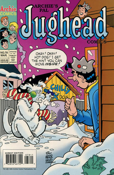 Cover for Archie's Pal Jughead Comics (Archie, 1993 series) #78