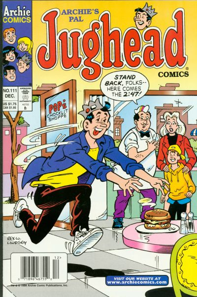 Cover for Archie's Pal Jughead Comics (Archie, 1993 series) #111