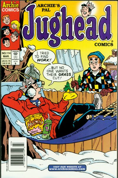 Cover for Archie's Pal Jughead Comics (Archie, 1993 series) #114