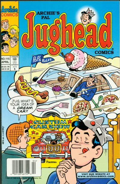 Cover for Archie's Pal Jughead Comics (1993 series) #115