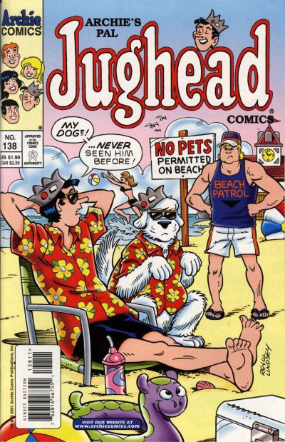 Cover for Archie's Pal Jughead Comics (Archie, 1993 series) #138