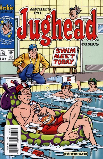 Cover for Archie's Pal Jughead Comics (Archie, 1993 series) #160
