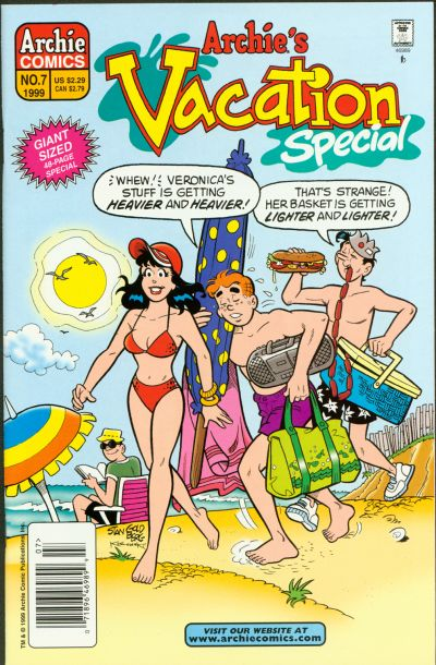 Cover for Archie's Vacation Special (Archie, 1994 series) #7