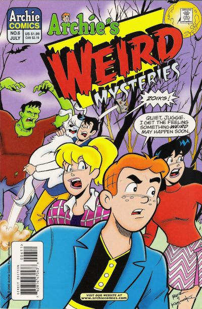 Cover for Archie's Weird Mysteries (Archie, 2000 series) #6