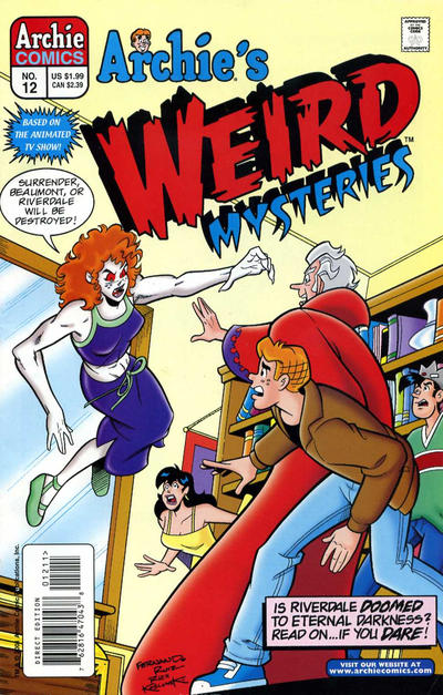 Cover for Archie's Weird Mysteries (Archie, 2000 series) #12