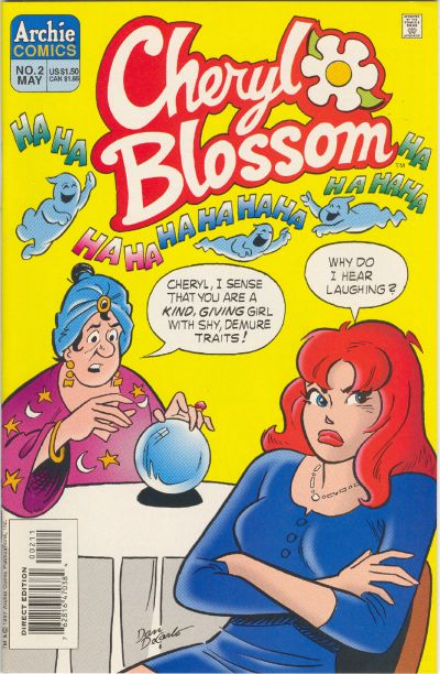 Cover for Cheryl Blossom (Archie, 1997 series) #2