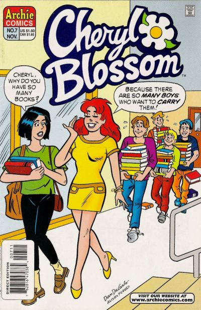 Cover for Cheryl Blossom (1997 series) #7