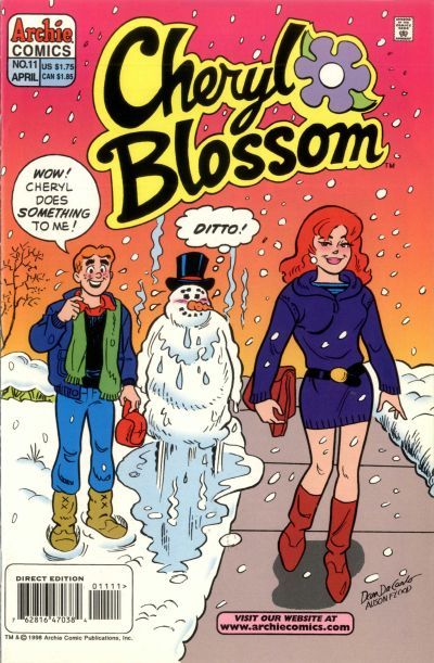Cover for Cheryl Blossom (Archie, 1997 series) #11