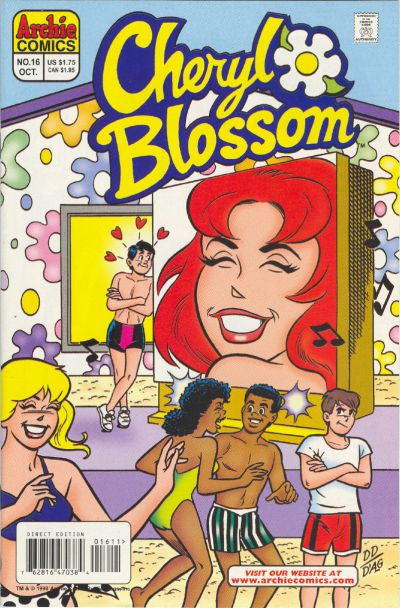 Cover for Cheryl Blossom (Archie, 1997 series) #16