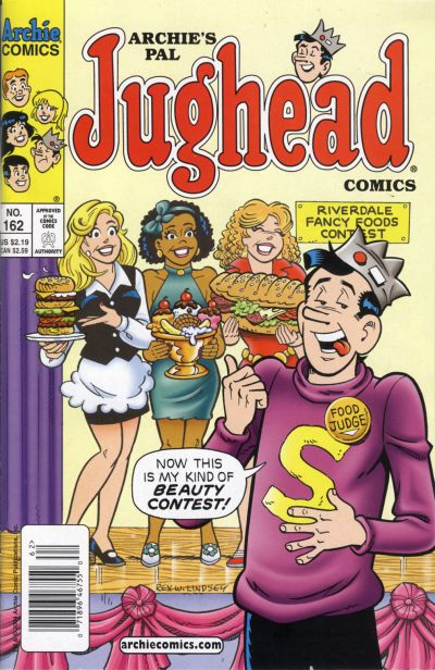 Cover for Archie's Pal Jughead Comics (Archie, 1993 series) #162