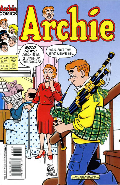 Cover for Archie (1962 series) #495