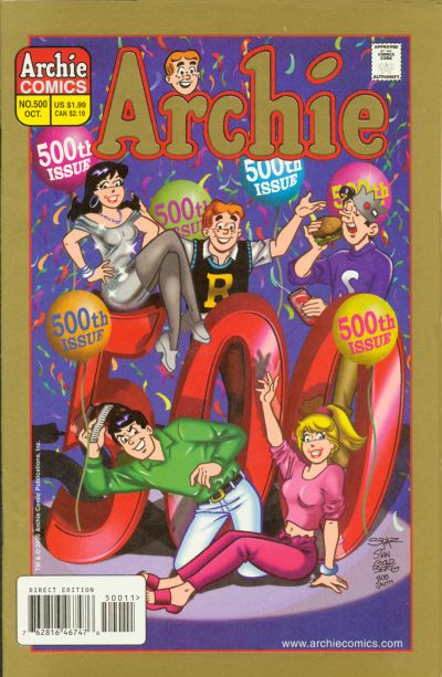 Cover for Archie (1962 series) #500