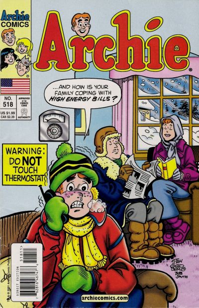Cover for Archie (Archie, 1959 series) #518