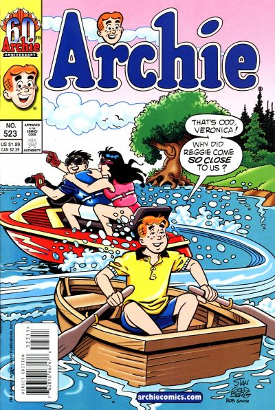 Cover for Archie (Archie, 1959 series) #523