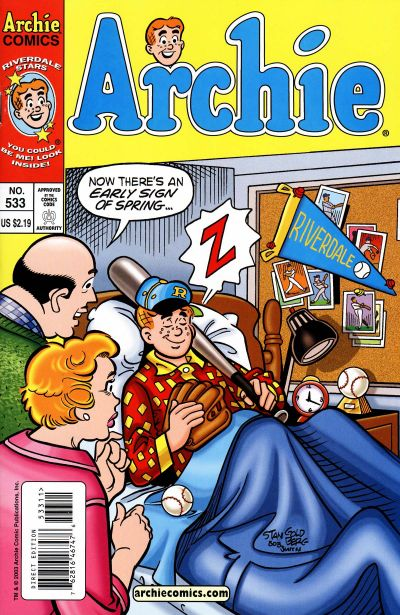 Cover for Archie (Archie, 1959 series) #533