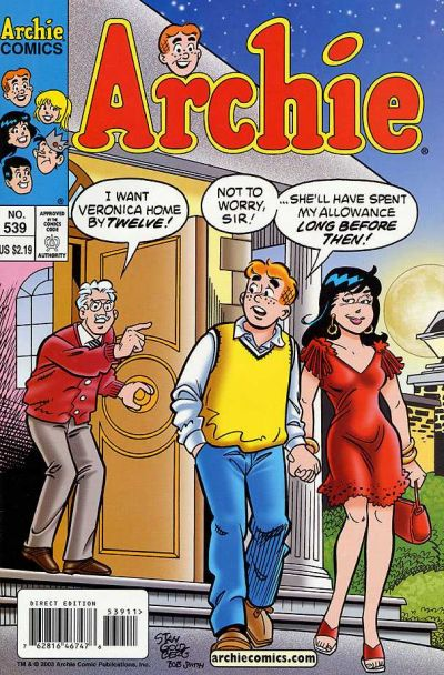 Cover for Archie (1962 series) #539