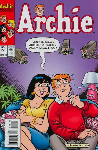 Cover for Archie (Archie, 1959 series) #555