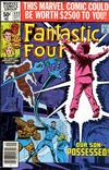 Cover for Fantastic Four (Marvel, 1961 series) #222