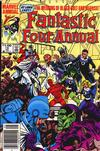 Cover Thumbnail for Fantastic Four Annual (1963 series) #18 [Newsstand Edition]
