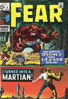 Cover for Fear (Marvel, 1970 series) #4