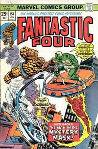 Cover Thumbnail for Fantastic Four (Marvel, 1961 series) #154 [Regular Edition]