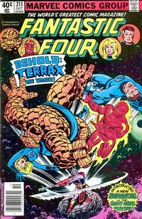 Cover Thumbnail for Fantastic Four (Marvel, 1961 series) #211