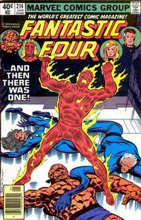 Cover Thumbnail for Fantastic Four (Marvel, 1961 series) #214