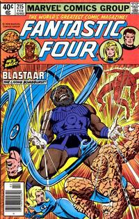 Cover Thumbnail for Fantastic Four (Marvel, 1961 series) #215
