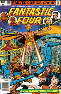 Cover Thumbnail for Fantastic Four (Marvel, 1961 series) #216