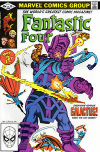 Cover Thumbnail for Fantastic Four (Marvel, 1961 series) #243 [direct edition]