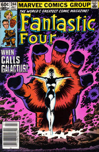 Cover Thumbnail for Fantastic Four (Marvel, 1961 series) #244