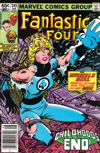 Cover Thumbnail for Fantastic Four (Marvel, 1961 series) #245 [Newsstand Edition]