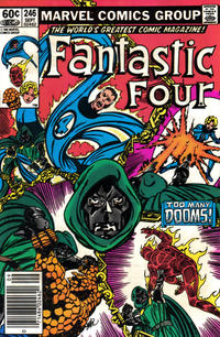 Cover Thumbnail for Fantastic Four (Marvel, 1961 series) #246