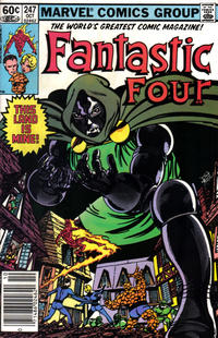 Cover Thumbnail for Fantastic Four (Marvel, 1961 series) #247 [Newsstand Edition]