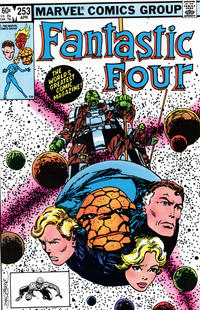 Cover Thumbnail for Fantastic Four (Marvel, 1961 series) #253 [Direct Edition]